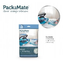 Packmate Vacuum Travel Bag Set 4 Stuks